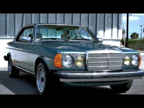 Mercedes 300cd W123 Turbodiesel Coupe Youtube