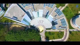 Trường Đại học Công nghệ Thông tin nhìn từ trên cao