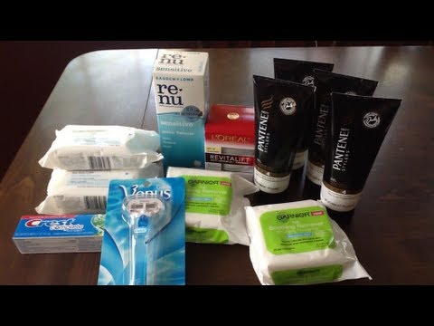 CVS Shopping Trip ECB Coupon Deals Haul 5-12-13