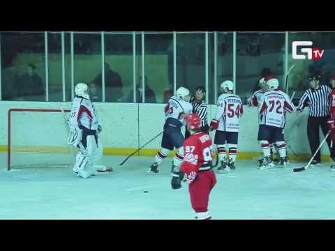 09 02 14 ХК Ростов Ростов на Дону vs  ХК Мордовия Мордовия