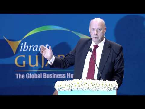 Freddy Svane's speech during the Inaugural Ceremony of Vibrant Gujarat Global Summit 2013