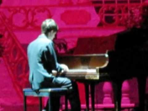 Conner Boss Original Song on Piano at 2011 Mrs Washington Pageant