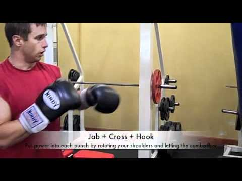 Boxing Techniques - The Jab, The Hook, & The Cross Boxing Techniques Image 1