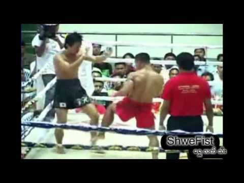 Myanmar Lethwei vs Japan kickboxing Image 1