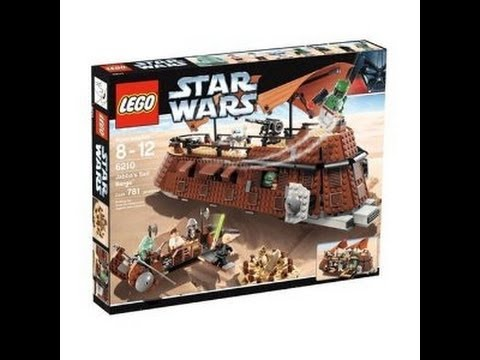 LEGO Star Wars 6210 Jabba's Sail Barge™ Review