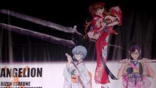 Evangelion 3.0 - Evangelion Sword Exhibit in Fukuoka Japan