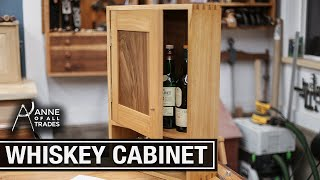 Dovetailed Whiskey Cabinet