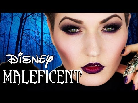 DISNEY MALEFICENT Angelina Jolie Makeup