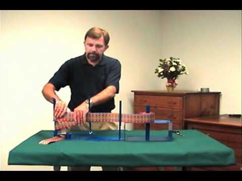 Bow Making Machine Demonstration