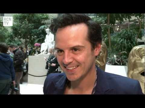 Sherlock Andrew Scott Interview - BAFTA Television Awards 2012