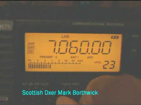 Ham Radio DX CE9XX Antarctic DXpedition González Videla Base Received In Scotland