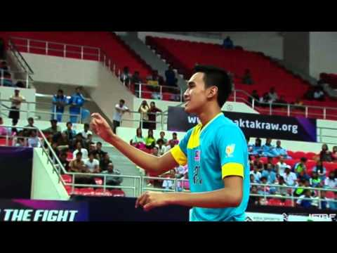 Sepaktakraw [iss Myanmar] - Malaysia Vs Myanmar video
