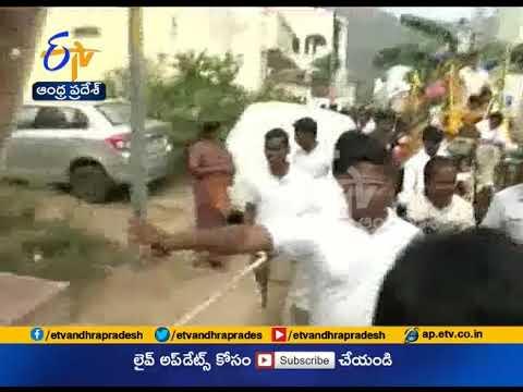 CM Chandrababu Meets Villagers In Naravaripalli