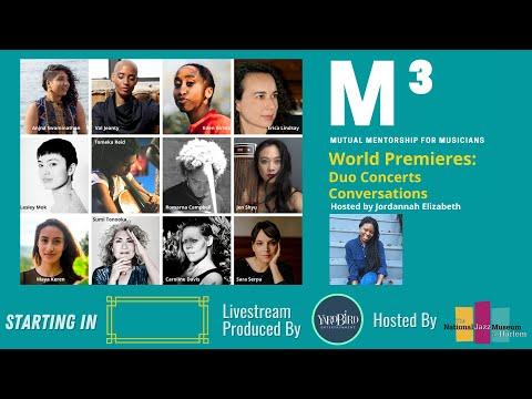 Mutual Mentorship for Musicians (M³) World Premieres: Duo Concerts & Conversations Pt.1