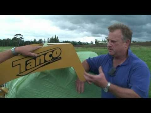 Tanco Bale Shear: Norwood Ag Demo.