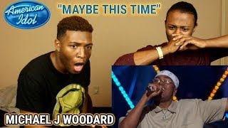 "Download Lagu Michael J. Woodard Sings ""Maybe This Time"" from Cabaret - American Idol 2018 on ABC (REACTION) Gratis STAFABAND"