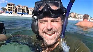Aquachigger At The Beach: Where's The Gold?