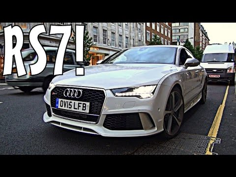 FUN in 2015 Audi RS7 with IDIOTS!