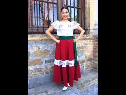 TRAJES TIPICOS DE LA REPUBLICA MEXICANA