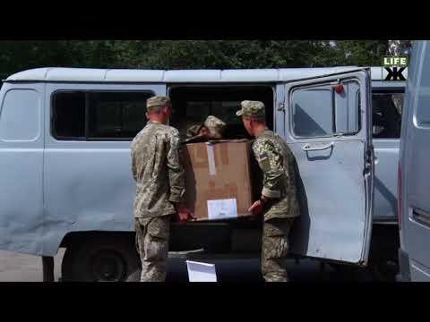 Свободівці передали допомогу одній із військових частин на Житомирщині