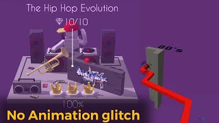 Dancing Line - The Hip Hop Evolution | No Animation glitch