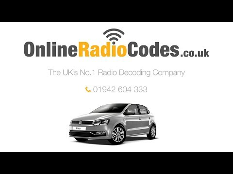🚗 Volkswagen Polo Radio Code Unlock  Stereo With The Official VW Radio Codes