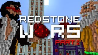 Minecraft: REDSTONE WARS Part 2 - The Reveal (Mech Suits)