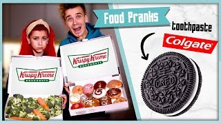 TRYING THE BEST FOOD PRANKS
