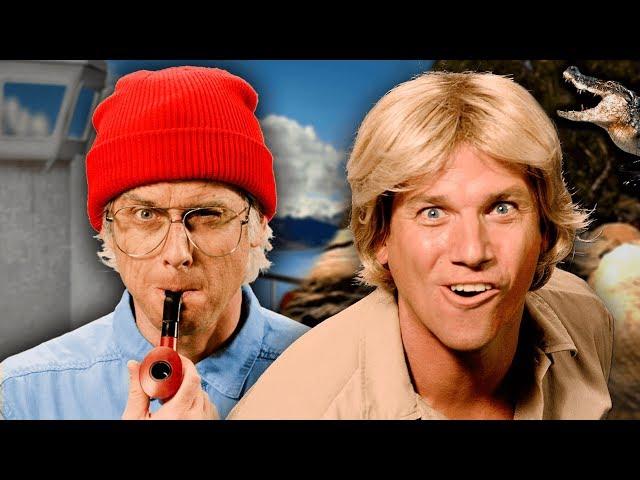 Jacques Cousteau vs Steve Irwin. Epic Rap Battles of History thumbnail