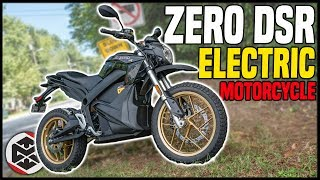 First Ride on the Zero DSR Electric Motorcycle