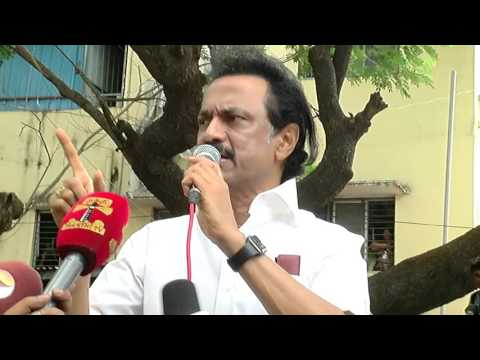 Tamil Nadu Election -  M.K Stalin Files His  Nomination At Kolathur in Chennai around 2pm
