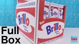 Brillo Object Series Andy Warhol Kidrobot Figures Unboxing | PSToyReviews