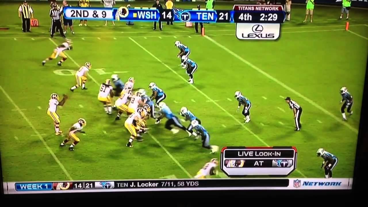 Pat White Redskins Pat White Redskins Touchdown