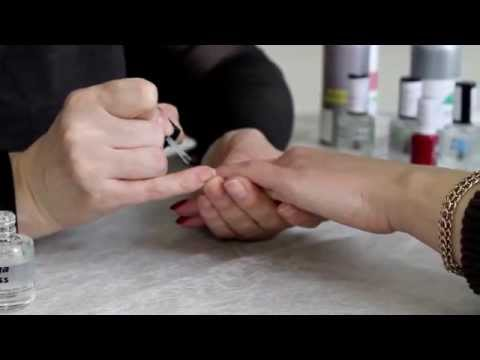 Видео как сделать маникюр дома