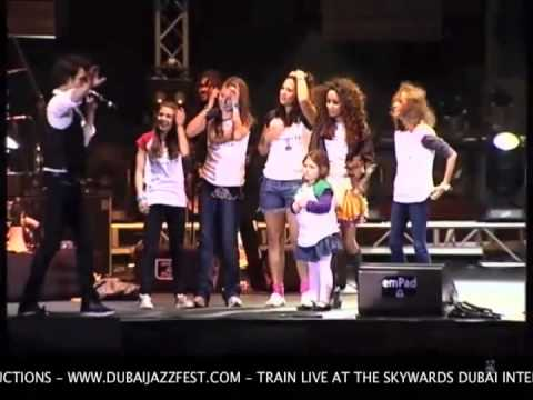 TRAIN Live At The Skywards Dubai Int'l Jazz Festival 2011