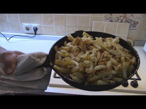 Как приготовить картошку с луком - видео