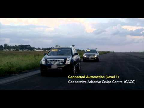 Paving the way to Connected Automation - Cooperative Adaptive Cruise Control