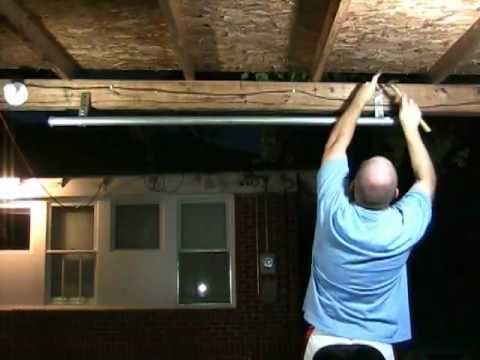 A Homemade Pull Up Bar For Under 20 Youtube