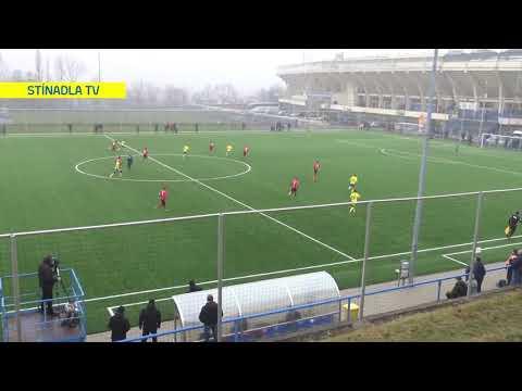 Sestřih utkání Teplice - Chrudim (18.1.2020)