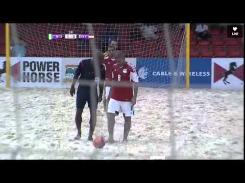 Nigeria vs Egypt Beach Soccer (Football) Highlights 15/04/2015