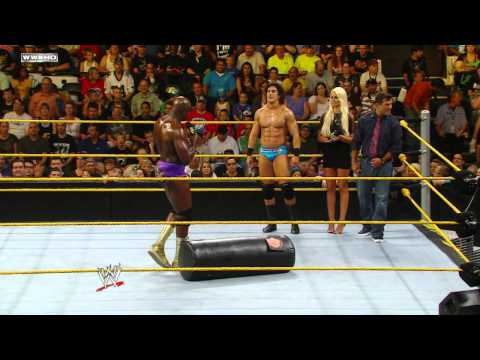WWE NXT: Rookie Challenge - Dummy Demonstration