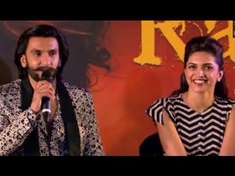 Ranveer Singh & Deepika Padukone Promoting 'Goliyon Ki Raasleela Ram-leela' In Pune
