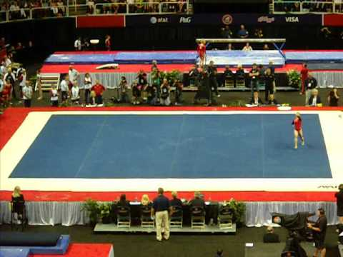 Aly Raisman Floor - 2012 USA Gymnastics Olympic Trials Day 2