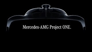 Mercedes-AMG Project ONE Announcement NAIAS Detroit 2017