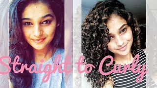 Curly Hair Journey (with lots of embarrassing pictures) | Shruti Amin
