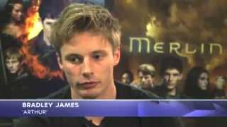 Merlin S5 Cast  Video Intrvw On Merlin Finale