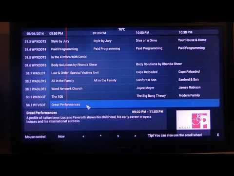 Live TV with XBMC