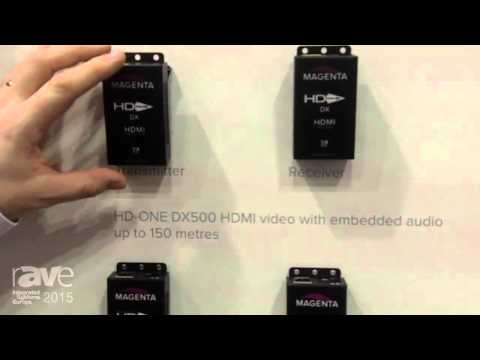 ISE 2015: tvONE Details the Magenta HD-ONE Extender Set with UHD Capability