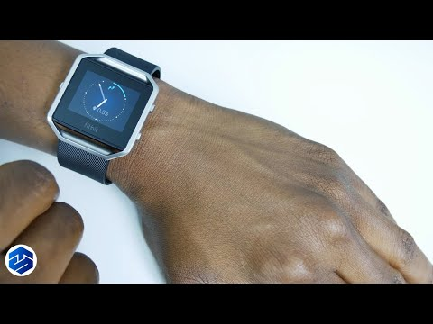 Unboxing and Setting Up A Fitbit Blaze