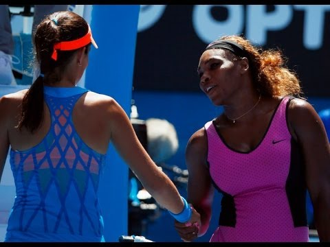 HIGHLIGHTS Na Li vs Serena Williams - Australian Open 2014 【Full HD】